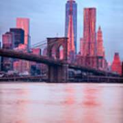 Manhattan -  New York City - Usa Art Print