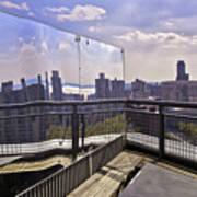 Manhattan Reflections Art Print