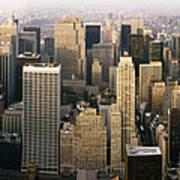 Manhattan Skyline - New York City Art Print