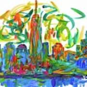 Manhattan Twirl Art Print
