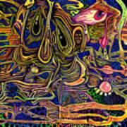 Manic Depression Art Print