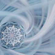 Manifest Beauty In Blue Art Print