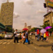 Manila Crosswalk 6292972 Art Print