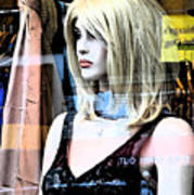 Mannequin Window 4 Art Print