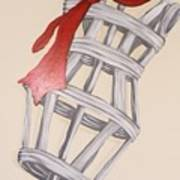 Mannequin With Red Tie Art Print