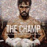 Manny Pacquiao-the Champ Art Print