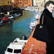 Manola In Livorno Art Print by Matthew Bates