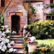 Manor House Art Print