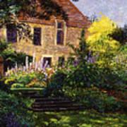 Manor House Steps Art Print