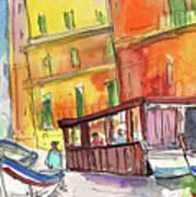 Manorola In Italy 04 Art Print