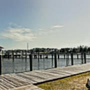 Manteo Waterfront Art Print