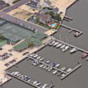 Mantoloking Yacht Club Mantoloking New Jersey II Art Print