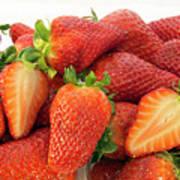 Many Strawberry Art Print