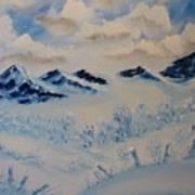 Many Valleys Art Print