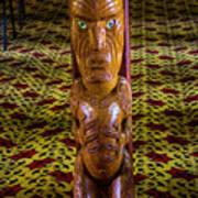 Maori Greeter Art Print