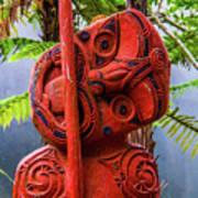 Maori Guardian Art Print