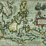 Map Of The East Indies Art Print
