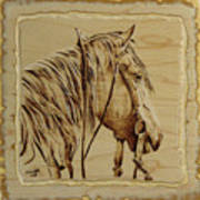Maple Horse Art Print