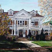 Mapleton Hill Homestead Art Print