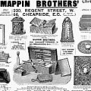 Mappin Brothers Ad, 1895 Art Print