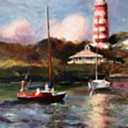 Mara Sails Hope Town Art Print