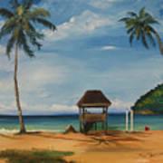 Maracas Bay 2 Art Print