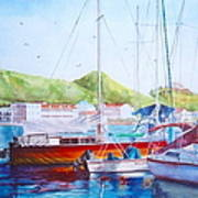 Maragot Harbor Art Print