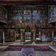 Maramures Romania Church Interior Art Print