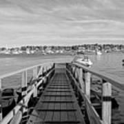 Marblehead Massachusetts Dock Art Print
