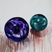 Marbles Of My Reflection Art Print