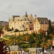 Marburg Castle Germany H B Art Print