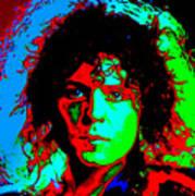 Marc Bolan Art Print