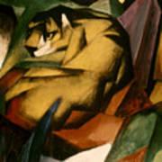 Marc: The Tiger, 1912 Art Print