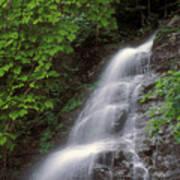 March Cataract Falls Mount Greylock Art Print