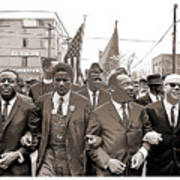 March Through Selma Art Print