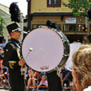 Marching Band Percussion  Art Print