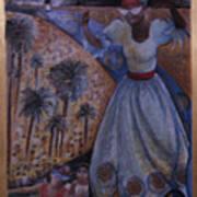 Mardi Gras Megillah Print by Barbara Nesin