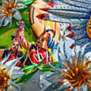 Mardi Gras - New Orleans 3 Art Print