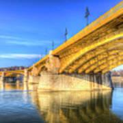 Margaret Bridge Budapest Art Print