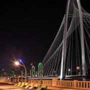 Margaret Hunt Hill Bridge Dallas Art Print