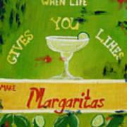 Margaritas Art Print