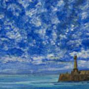Margate Sea And Sky Art Print