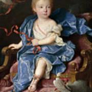 Maria Antonia Fernanda De Borbon. Infanta Of Spain. Future Queen Of Sardinia Art Print
