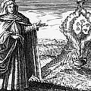 Maria The Jewess, First True Alchemist Art Print