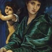 Maria Zambaco 1870 Art Print
