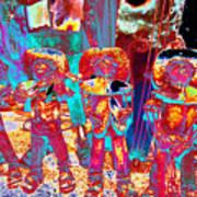 Mariachi Abstract Art Print