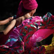 Mariachi Dancer 4 Art Print