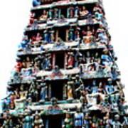 Mariamman Temple 1 Art Print
