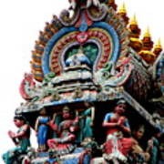 Mariamman Temple Detail 3 Art Print