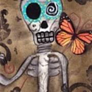Marias Butterfly Art Print